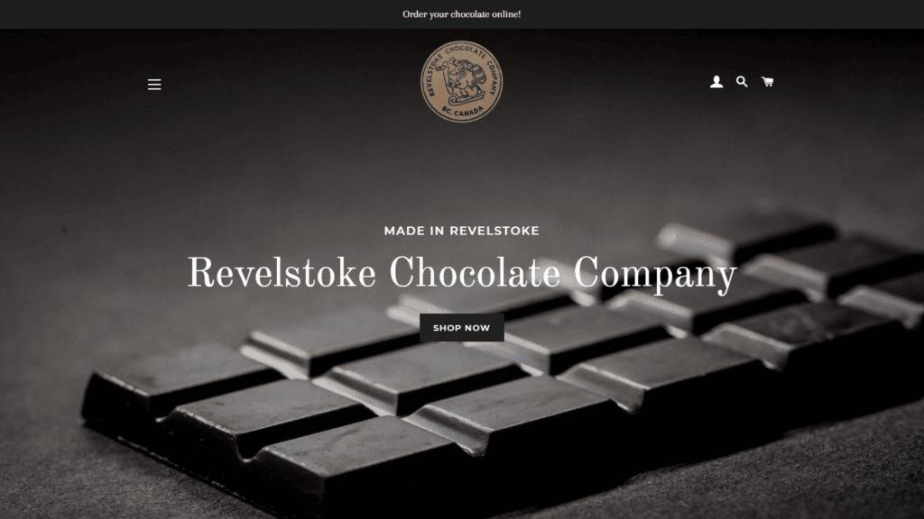 revelstoke chocolate portfolio 16 9