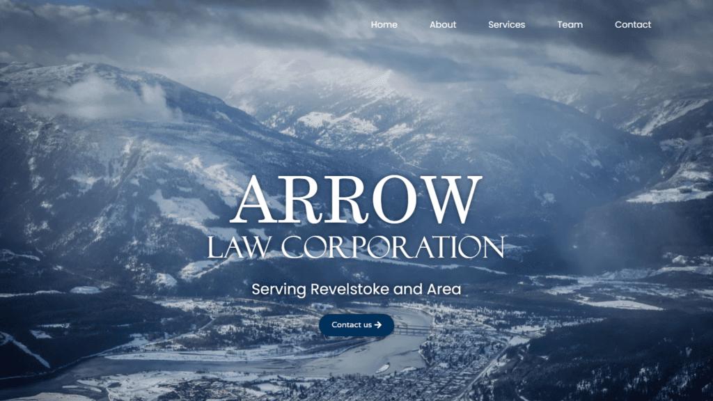 revelstoke lawyer arrow law corporation portfolio 16 9