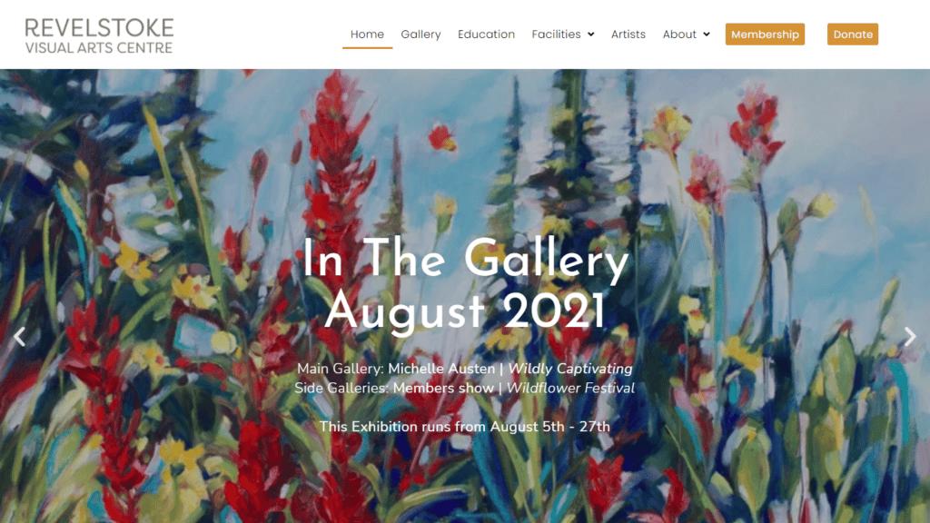 revelstoke visual arts centre gallery portfolio 16 9